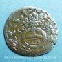 Coins Alsace. Hanau-Lichtenberg. Frédéric Casimir (1641-1685). 2 kreuzers 1657. Hanau. MG