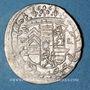 Coins Alsace. Hanau-Lichtenberg. Frédéric Casimir (1641-1685). 2 kreuzers 1661. Bouxwiller