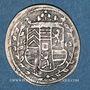 Coins Alsace. Hanau-Lichtenberg. Frédéric Casimir (1641-1685). 2 kreuzers 1663. Bouxwiller
