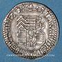 Coins Alsace. Hanau-Lichtenberg. Frédéric Casimir (1641-1685). 2 kreuzers 1667. Bouxwiller