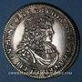 Coins Alsace. Hanau-Lichtenberg. Frédéric Casimir (1641-1685). Florin 1675. Hanau