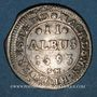 Coins Alsace. Hanau-Lichtenberg. Philippe René (1685-1712). 2 albus 1693. Hanau