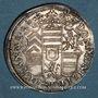 Coins Alsace. Hanau-Lichtenberg. Philippe René (1685-1712). Refrappe en argent du ducat