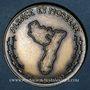 Coins Alsace. Incorporés de force dans l'armée allemande 1942-1945 (1992). Médaille en bronze. 42,11 mm