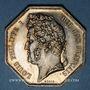 Coins Alsace. Lobsann. Mines d'asphalte. Argent. Octogonal. 36 mm.