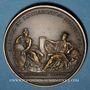 Coins Alsace-Lorraine. Prise de Belfort 1654. Médaille en bronze rouge. Refrappe