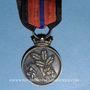 Coins Alsace-Lorraine. Société des Volontaires de 1870-1871. Médaille argent et vermeil. 28,30 mm