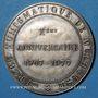 Coins Alsace. Mulhouse. 10e anniversaire du Cercle Numismatique de Mulhouse. 1977. Argent. 41,5 mm
