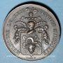 Coins Alsace. Mulhouse. 50e Anniversaire du mariage de J. Koechlin et de Climène Dollfus. 1819. Médaille