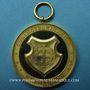 Coins Alsace. Mulhouse. Bénédiction du drapeau de la chorale Arion. 1894. Médaille en bronze doré. 42,8 mm