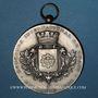 Coins Alsace. Mulhouse. Concours International de Chant. 1922. Médaille en bronze argenté. 60 mm