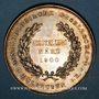 Coins Alsace. Mulhouse. Exposition ornithologique. 1900. Médaille argent. 43,11 mm