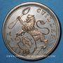 Coins Alsace. Mulhouse. La Cuiller. 1892 (1896). Médaille en cuivre argenté. 41,5 mm