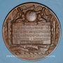 Coins Alsace. Mulhouse. Laboratoire de l'Ecole de Chimie de Mulhouse. Médaille bronze. 1893