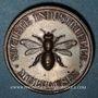Coins Alsace. Mulhouse. Société Industrielle. Jeton de présence. Bronze. 30 mm
