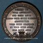 Coins Alsace. Mulhouse. Visite de Charles X. 1828. Médaille cuivre. 41 mm. Gravée par Barre