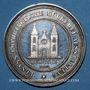 Coins Alsace. Munster. Exposition de produits laitiers d'Alsace-Lorraine. 1882. Médaille argent. 39,4 mm