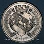 Coins Alsace. Saverne. Exposition agricole. 1883. Médaille étain