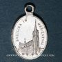 Coins Alsace. Souvenir de Notre Dame de Marienthal (19e siècle). Médaille aluminium. 10,29 x 15,83 mm