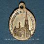 Coins Alsace. Souvenir de Notre Dame de Marienthal (19e siècle). Médaille laiton. 6,92 x 24,01 mm
