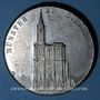 Coins Alsace. Souvenir de Strasbourg. Médaille étain. 36,1 mm. Gravée pazr Müller et Vogtenberger