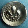 Coins Alsace, Strasbourg, (14e - 15e siècle), pfennig au lis