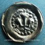 Coins Alsace. Strasbourg (14e - 15e siècle), pfennig au lis