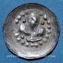 Coins Alsace, Strasbourg, (14e siècle), pfennig au lis