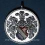 Coins Alsace. Strasbourg. 40e anniversaire de l'association d'étudiants Palatia. 1913. Médaille aluminium