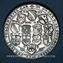 Coins Alsace. Strasbourg. 4e centenaire de la fête du tir de 1590. 1990. Médaille étain. 41,5 mm