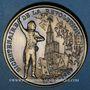 Coins Alsace. Strasbourg. Bicentenaire de la Révolution. 1989. Médaille bronze. 42 mm