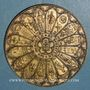 Coins Alsace. Strasbourg. Bimillénaire. 1988. Médaille bronze. 60 mm