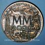 Coins Alsace. Strasbourg. Bimillénaire. 1988. Médaille bronze. 85 mm