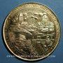 Coins Alsace. Strasbourg. Bimillénaire. 1988. Médaille vermeil. 60 mm