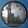 Coins Alsace. Strasbourg. Cathédrale - 8e centenaire pose de la 1ère pierre (1815). Médaille étain. 50 mm