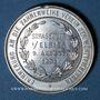 Coins Alsace. Strasbourg. Cercle des wurtembergeois. 1891. Médaille étain. 33,2 mm