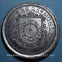 Coins Alsace. Strasbourg. Cercle Numismatique d'Alsace. 8e anniversaire. 1934. Médaille étain. 45 mm