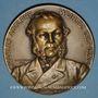Coins Alsace. Strasbourg. Charles Adolphe Wurtz (1817-1884). 1886. Médaille bronze. 68,66 mm