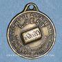 Coins Alsace. Strasbourg. Clicherie Alsacienne L. Jest. Médaille. Laiton uniface