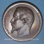 Coins Alsace. Strasbourg. Concours Régional d'Agriculture. 1859. Médaille bronze. 50 mm