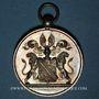 Coins Alsace. Strasbourg. Conseil des Prud'hommes. Médaille argent. 33,68 mm