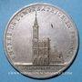 Coins Alsace. Strasbourg. Entrée de l'impératrice en France. 1810. Type Ia. Médaille argent. 32 mm