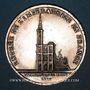 Coins Alsace. Strasbourg. Entrée de l'impératrice en France. 1810. Type Ic. Médaille argent. 32 mm