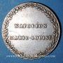 Coins Alsace. Strasbourg. Entrée de l'impératrice en France. 1810. Type IIc. Médaille argent. 32 mm