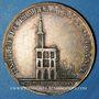 Coins Alsace. Strasbourg. Entrée de l'impératrice en France. 1810. Type IIIb. Médaille argent doré. 32 mm
