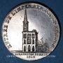 Coins Alsace. Strasbourg. Entrée de l'impératrice en France. 1810. Type IIIc. Médaille argent. 32 mm