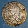 Coins Alsace. Strasbourg. Evêché. Charles de Lorraine (1592-1607). 3 kreuzers 1601S. Saverne