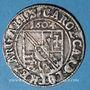 Coins Alsace. Strasbourg. Evêché. Charles de Lorraine (1592-1607). 3 kreuzers 1604S. Saverne