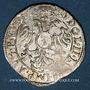 Coins Alsace. Strasbourg. Evêché. Charles de Lorraine (1592-1607). 3 kreuzers n. d.