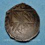 Coins Alsace. Strasbourg. Evêché. Charles de Lorraine (1592-1607). Pfennig uniface n. d.
